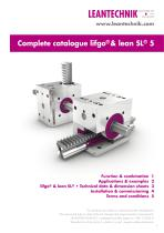 Complete catalogue lifgo®& lean SL® 5