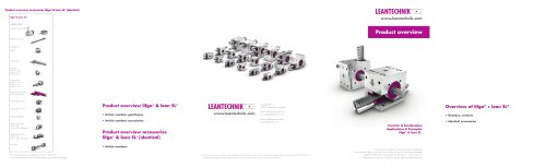 Product Overview lifgo® & lean SL®