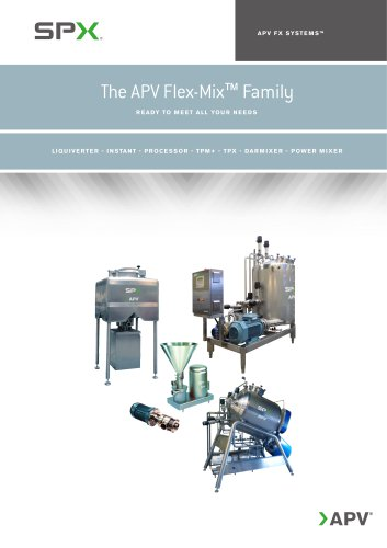 The APV Flex-MixTM Family