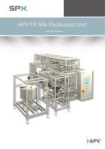 APV FX Milk Pasteuriser Unit