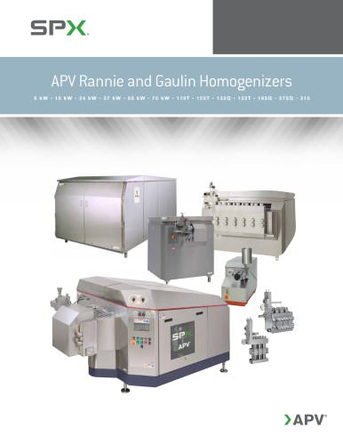 APV Homogenizers