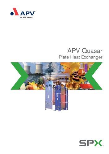 APV Quasar Plate Heat Exchanger