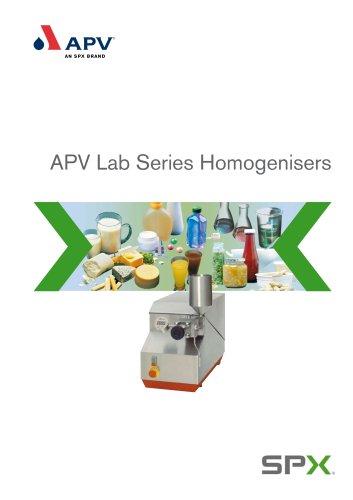 Lab Series Homogenisers