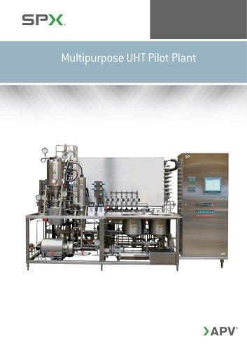 Multipurpose UHT Pilot Plant