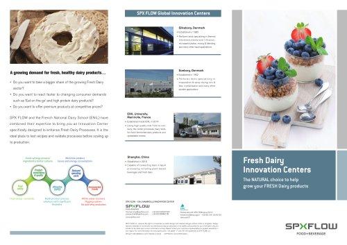 SPX FLOW Global Innovation Centers