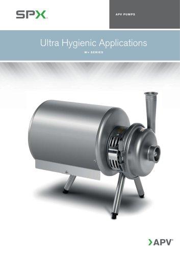 Ultra Hygienic Applications - W+ Series