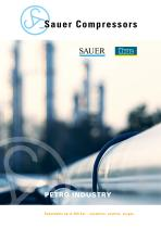 Sauer Compressors for Petro Industry