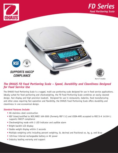 food scale FD 6