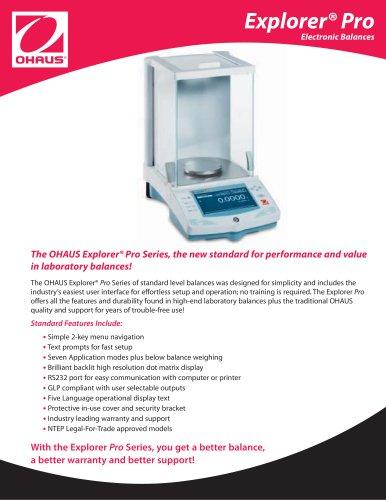 Ohaus Explorer®Pro Balance EP413D