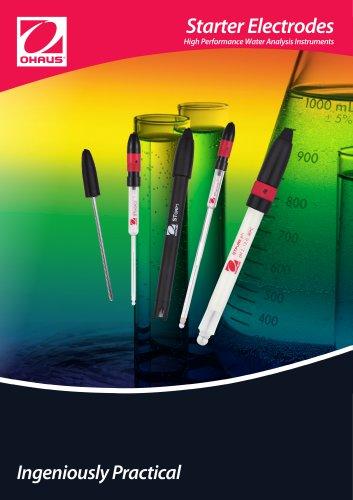 Starter Electrodes  High Performance Water Analysis Instruments