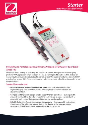 Starter Water Analysis Portable Meters