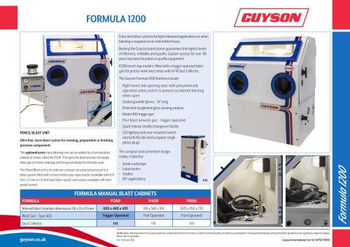 Guyson Formula 1200