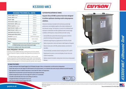 Guyson KS3000 Mk3