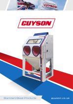Guyson Manual Blast Cabinet Range
