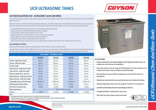 UCR clean-and-rinse range