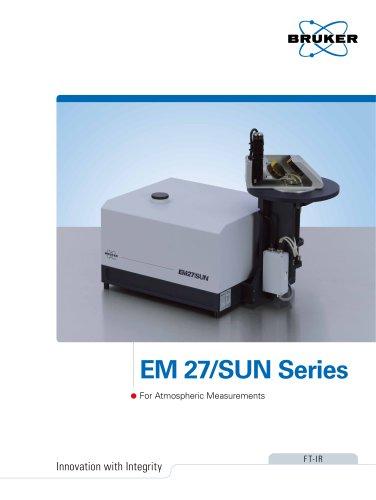 EM 27/SUN Series For Atmospheric Measurements