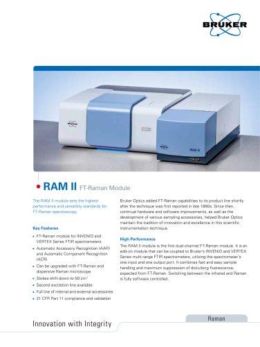 RAM II FT-Raman Module