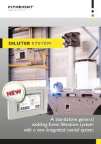Diluter System - Prevent accumulation of welding fumes in your workshop