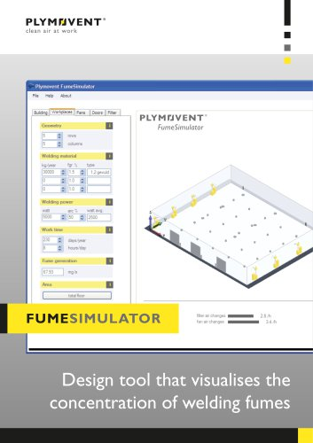 FumeSimulator - Design tool that visualises the concentration of welding fumes