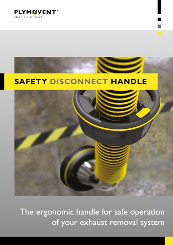 Safety disconnect handle