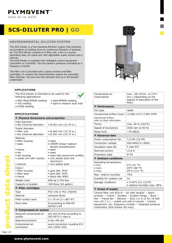 SCS-Diluter