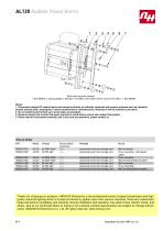 AL120 Audible Visual Alarm - 9