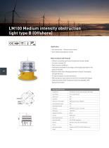 Aviation obstruction light - 10