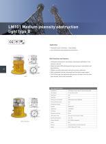 Aviation obstruction light - 8
