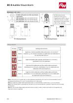 BC-8 Audible Visual Alarm - 2