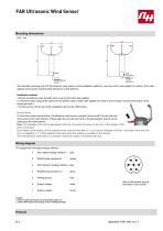 FAR Ultrasonic Wind Sensor - 2