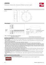 LM403A Medium Intensity Aviation Obstruction Light - 2