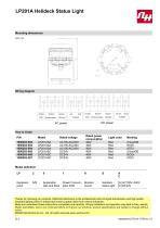LP201A Helideck Status Light - 2