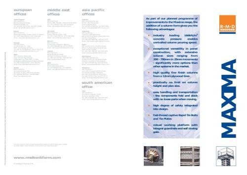 Maxima Column Flyer