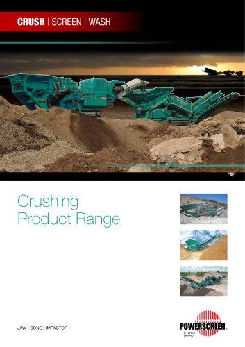 Powerscreen Mobile Crusher Range