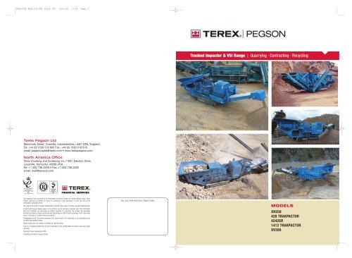 Powerscreen Pegson Tracked Impactor Brochure