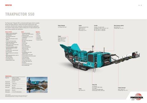Trakpactor 550 Brochure