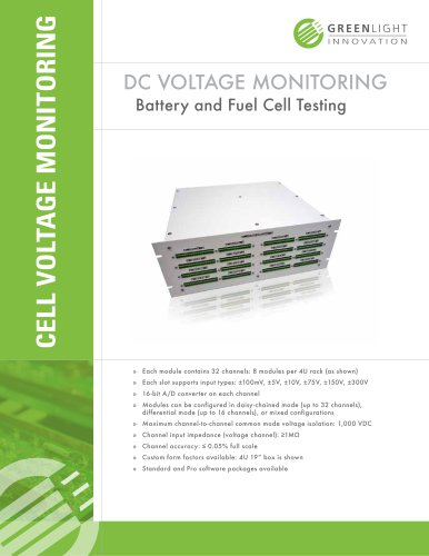 Cell Voltage Monitoring System