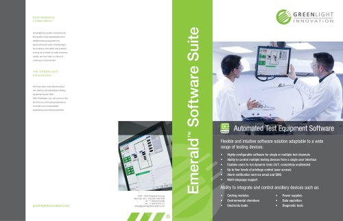 Emerald? Control and Automation Software