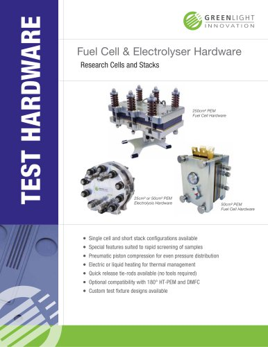 Fuel Cell & Electrolyser Hardware