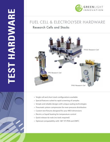 Fuel Cell Hardware