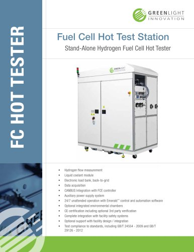 Fuel Cell Hot Test Station