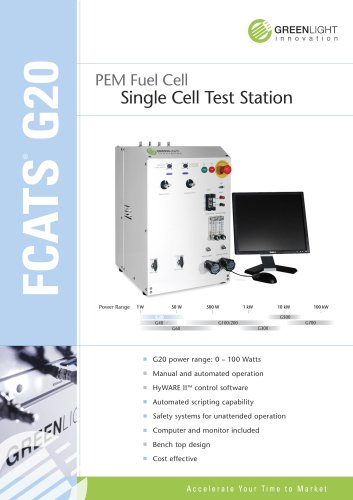 fuel cell test station  G20