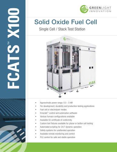 Single Cell / Stack SOFC Test Station