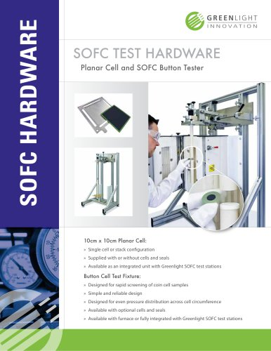 SOFC Button Cell Tester