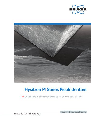 Bruker Hysitron PI 85L SEM PicoIndenter
