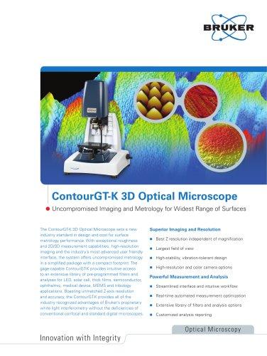 Contour GT-K 3D Optical Microscope