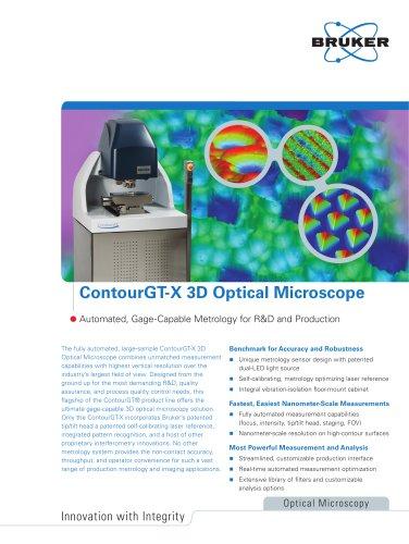 Contour GT-X 3D Optical Microscope