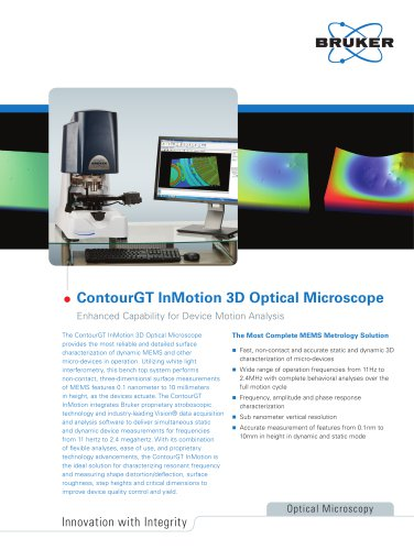 ContourGT In Motion Optical Microscope