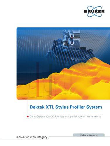 Dektak XTL Stylus Profiler System-Brochure