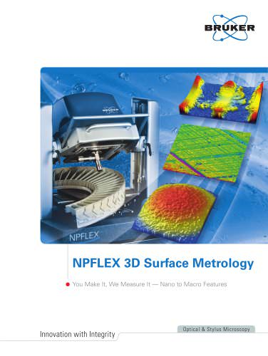 NPFLEX-LA? Non-Contact, 3D Surface Metrology System for Lead Angle